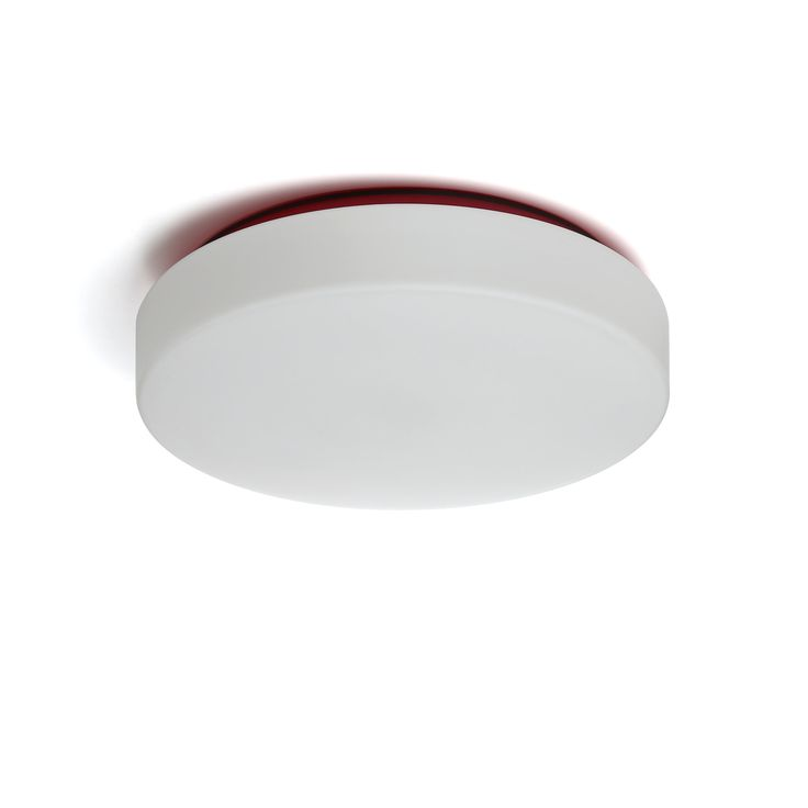 Drum 2-Light Outdoor Flush Mount