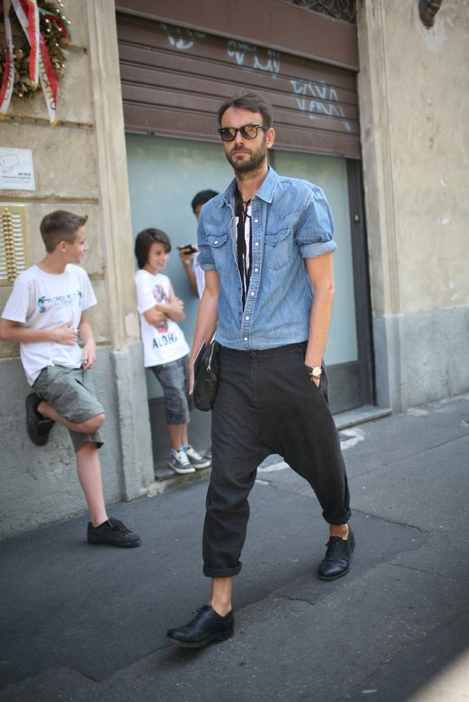 They Are Wearing: Milan Men's Fashion Week Spring 2014 - Slideshow - WWD.com