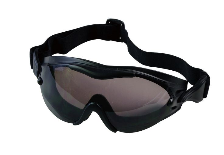 Swattec Tactical Goggle - Anti-Fog Anti-Scratch Grey Lenses - Field / Snow Gear
