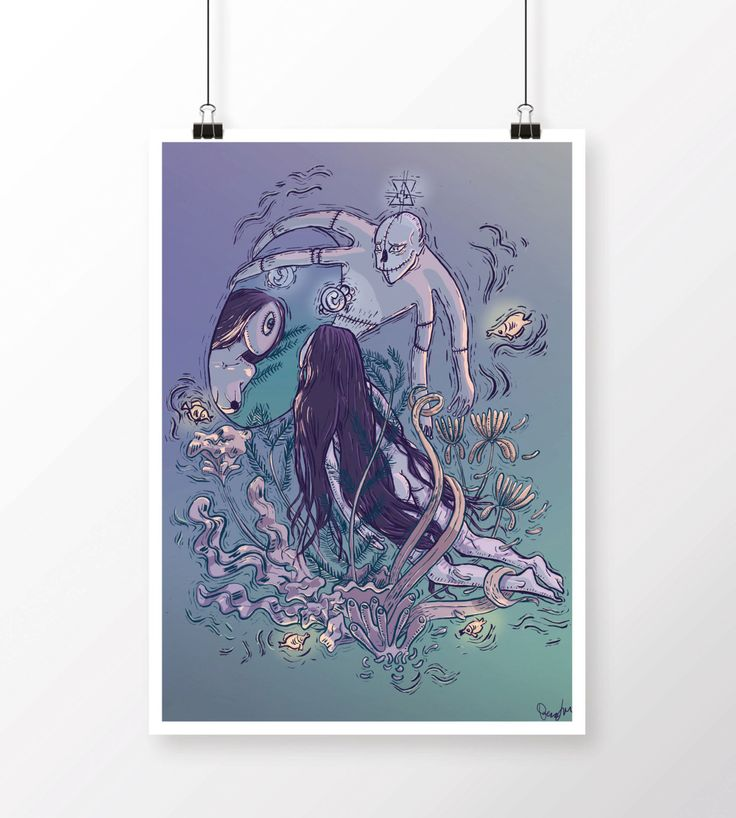 Lifted From the No of All Nothing Illustration - Everything Which Is Yes - Giclée Print Artwork by Lilla Bölecz by LillaBolecz on Etsy