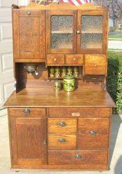Oh perfect Hoosier cabinet... you will be mine (not this $1300 one though)