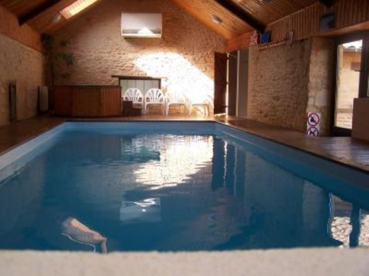 86 best piscine interieure images on pinterest | indoor pools ... - Construction Maison Avec Piscine Interieure