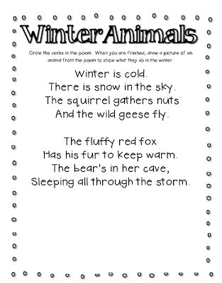 fabulous in first winter animals first grade. Black Bedroom Furniture Sets. Home Design Ideas
