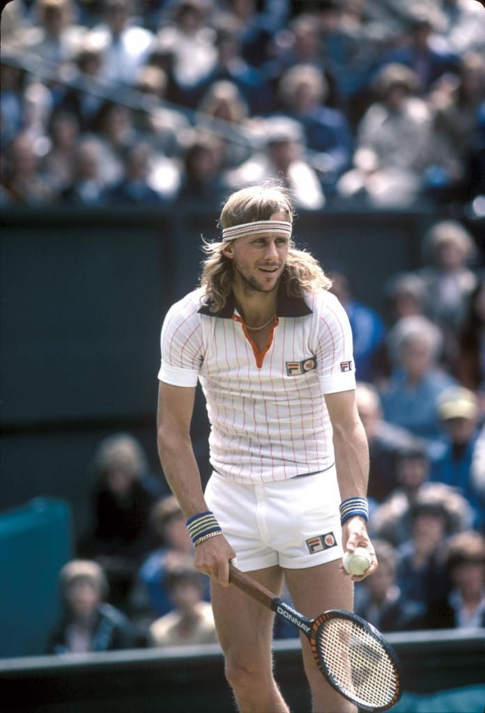 Borg. Best dressed player of all time. No contest.