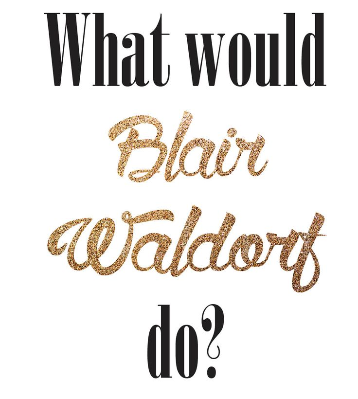 Blair Waldorf by AnaGlazierCreative on Etsy