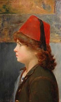 el niño del fez   Valenzuela Puelma