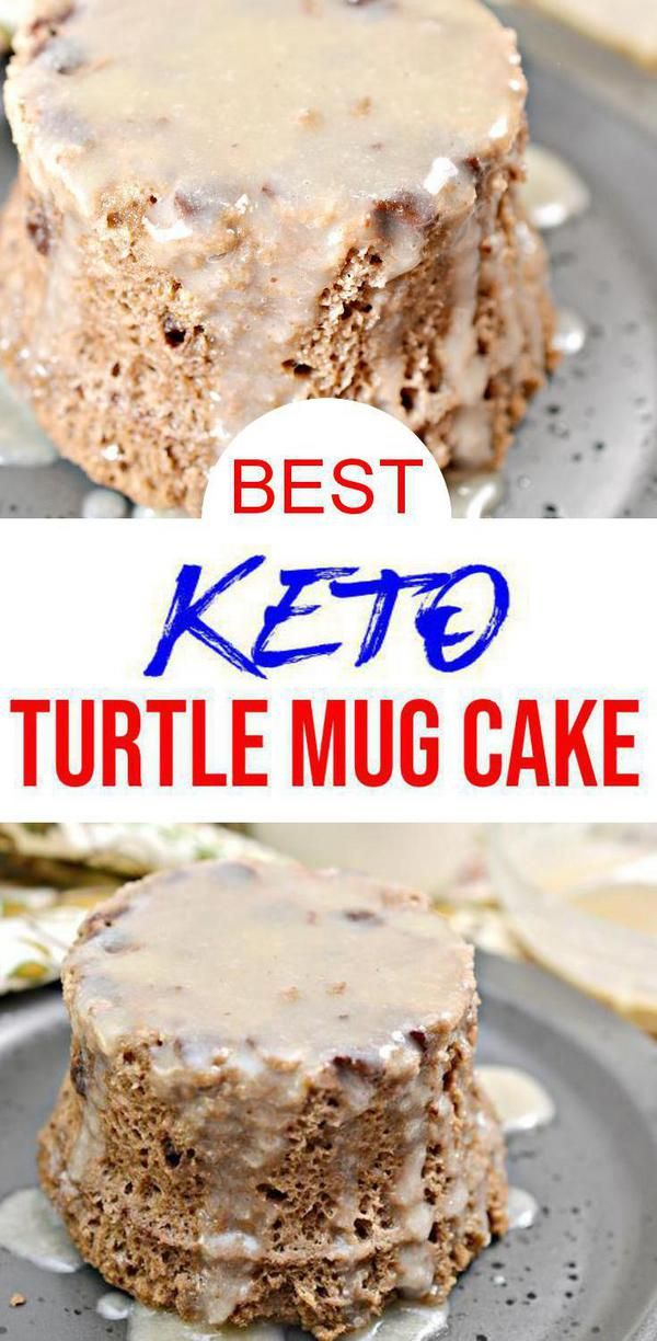 BEST Keto Mug Cakes! Low Carb Microwave Chocolate Caramel ...