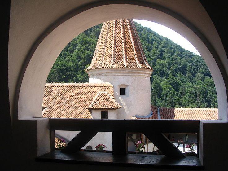 Interior Bran Castle Romania | Bran Castle situated near and in the immediate vicinity of Braşov, is ...