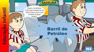 Educação Infantil - Nível 4 (crianças entre 7 a 9 anos): Barril de Petróleo
