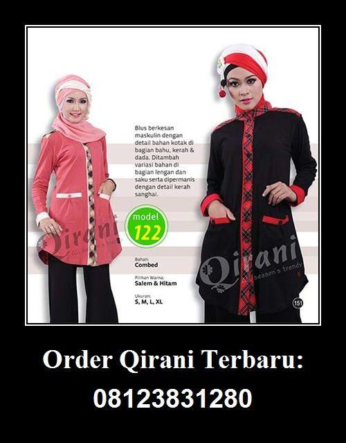 Baju Qirani atasan model 122,  Hubungi : Whatsapp : +62 812-3831-280 SMS : +62 812-3831-280 BBM : 5F03DE1D