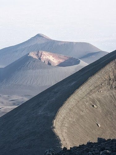 Visit one of the most active volcanoes in the world- Mount Etna, Sicily #etna