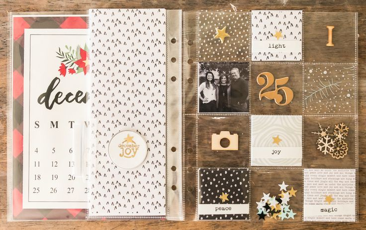 december daily 2016::foundation pages by kellyish at @studio_calico