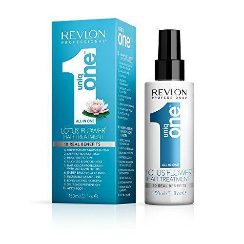 Revlon Professional – Uniq One fleur de lotus All in One Traitement de Cheveux 150ml traitement capillaire: Tweet Le traitement Uniq One…