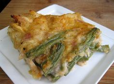 PV - Chicken, Green Beans and Mushroom Bake.... Thinking thanksgiving green bean casserole....
