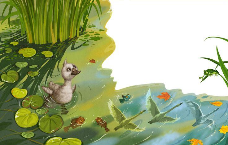 Просмотреть иллюстрацию Гадкий утенок 4 (перезагрузка)) из сообщества русскоязычных художников автора Елена Железняк в стилях: Книжная графика, нарисованная техниками: Смешанная техника.