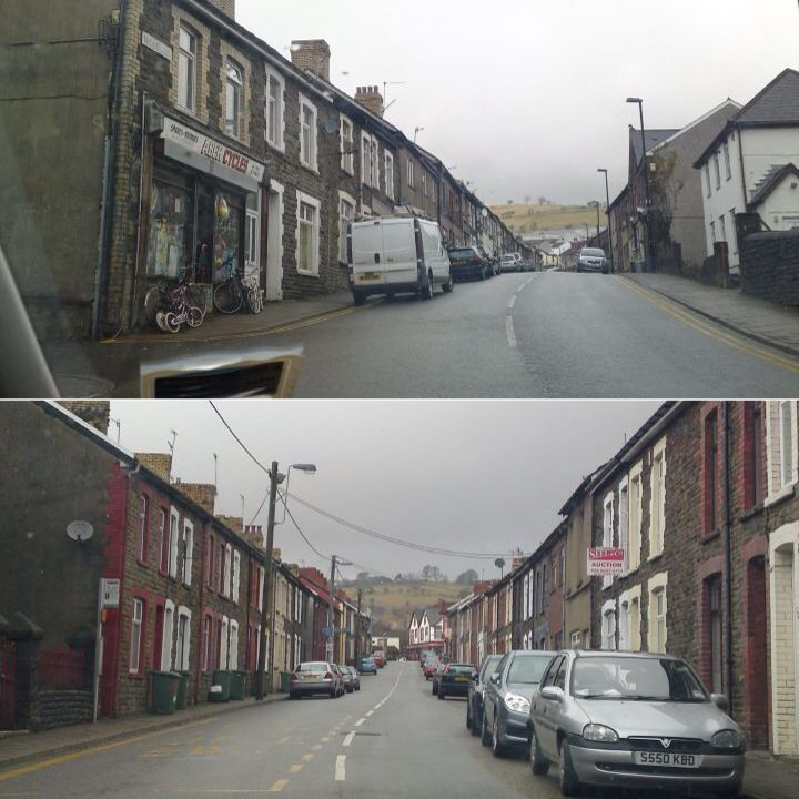 typical south wales valleys streets