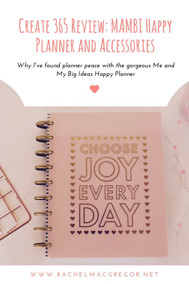 The best planner I've ever purchased and the reason I moved away from Bullet Journalling! Here's why I'd recommend the MAMBI Happy Planner for anyone who loves planning and crafts…