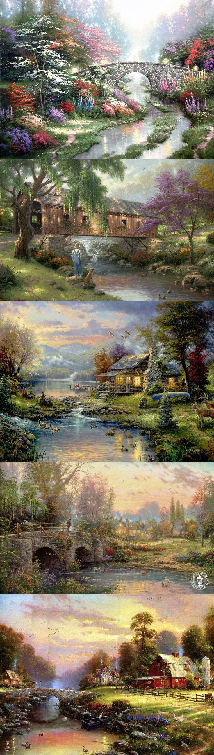 Thomas Kinkade, Natures paradise