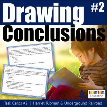 Drawing conclusions for 20 Total Questions! 10 Task Cards. Quick practice set of drawing conclusions. Wording directly aligned with STAAR Reading Test. Great for stations, group practice, small group, warm-ups, or individual practice! Teaching, re-teaching, or practicing reading comprehension skills.
