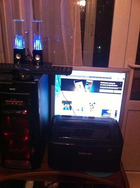 Компьютер, монитор, принтер  Санкт-Петербург  Процессор Intel Core i7 3770@3,4 GHz  Socket 1155 LGA Память Corsair CMX16GX3M2A1600C11 DDR3 кит 2х8 Материнская плата Intel DH77KC Видеокарта Asus GeForce 9800 GTX Жесткий диск WDC WD1003FBYX 1Tb Optiarc DVD RW Sony-Nec  цвет черный Картридер    цвет черный Блок питания Thermaltake TR-2 500Wt Корпус CMC c подсветкой    цвет черный Монитор Acer AL1914 19 дюймов 3х4 со встроенными динамиками   цвет серебристый Принтер Samsung ML-1865 картридж…