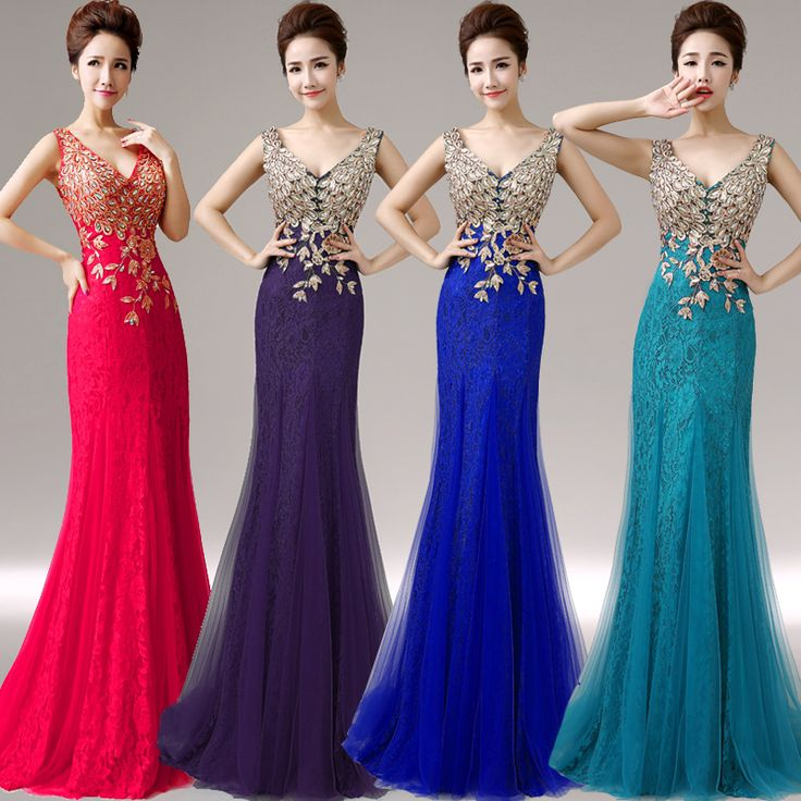 Hot long coral lace tulle fabric peacock pattern bridesmaid dresses wedding party dress plus size wholesale and quick delivery