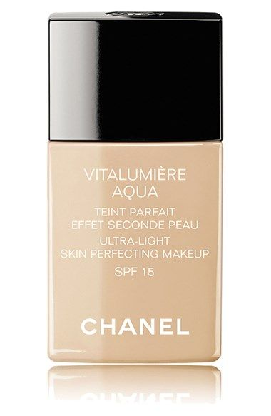 CHANEL VITALUMIÈRE AQUA  Ultra-Light Skin Perfecting Suncreen Makeup Broad Spectrum SPF 15 | Nordstrom