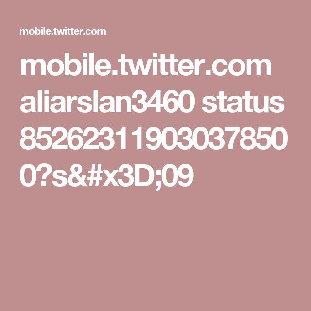 mobile.twitter.com aliarslan3460 status 852623119030378500?s=09