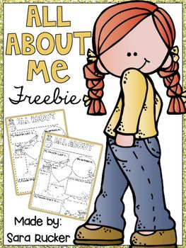 FREE.  Included in this FREEBIE are FOUR options for an ALL ABOUT ME poster!! These are perfect for back to school hallway displays, open house, or for featuring a star student of the week! Download this freebie at:  https://www.teacherspayteachers.com/Product/All-About-Me-FREEBIE-2390276