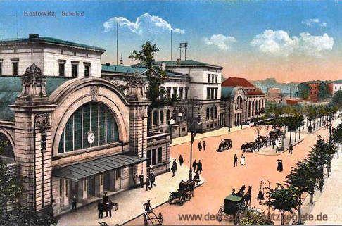 Kattowitz - Bahnhof