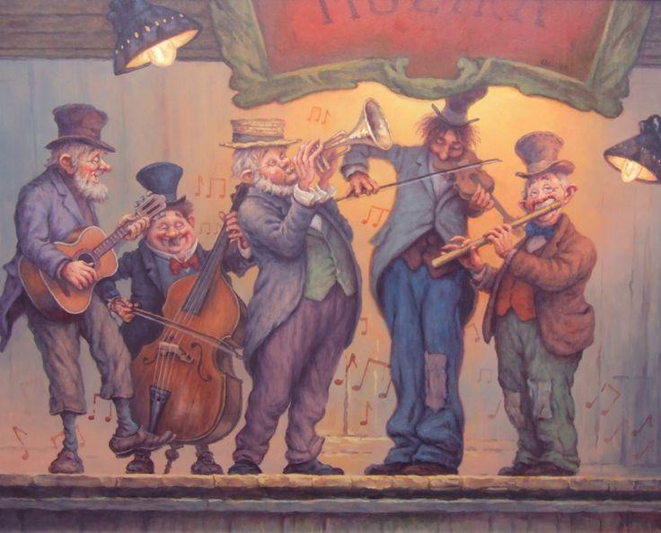 On the stage which means the World (A világot jelentő deszkákon) - artist: Szász Endre László