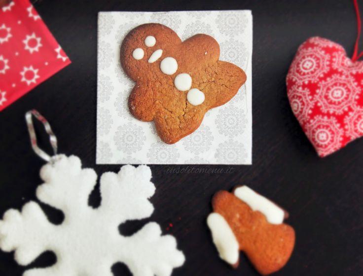 Biscotti di Natale: Omini di pan di zenzero - Insolito Menù