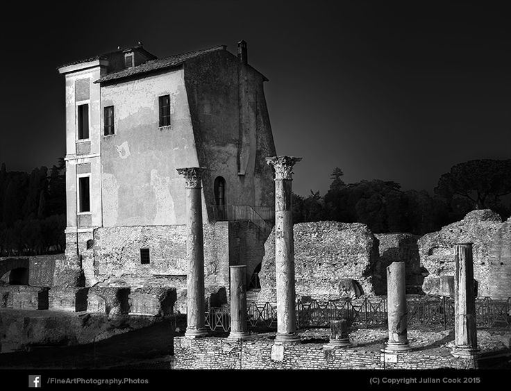 #blackandwhitephotography of #Ruins in #Rome.
