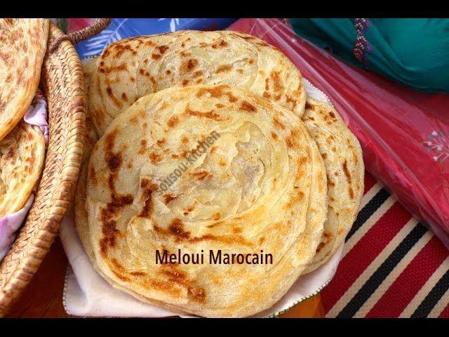 Meloui Crepes Marocaines ملوي البادية المغربية Moroccan Pancakes