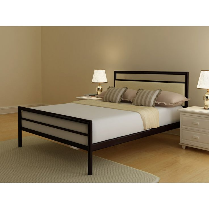 Channing Upholstered Queen Size Bed. Metal BedsBed ...