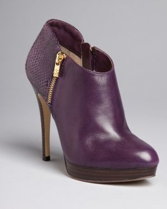 MICHAEL Michael Kors Booties - York High Heel - Jewel Tones - Accessories Trends - Fall Style Guide: It's On - LOOKBOOKS - Fashion Index - Bloomingdale's: Accessories Trends, High Heels Boots, York High, Michael Michael, Fall Style, Michael Kors, Kors Booty, Kors Shoes, Style Guide