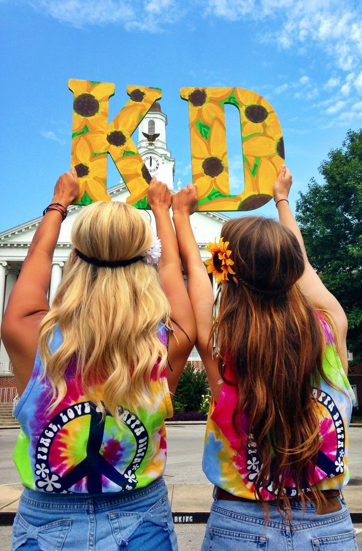 Do miniature kappa delta chi letters with this pattern for a little or tree member