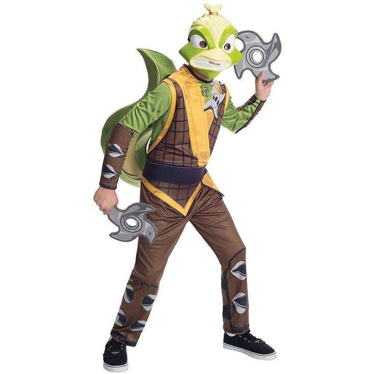Skylanders Swap Force Stink Bomb Costume - Kids, Boy's, Size:
