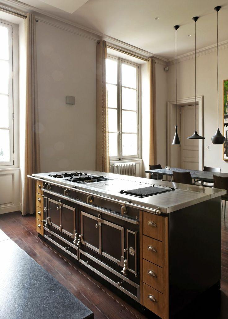 La Cornue Kitchen Designs: 30 Best French Chef Kitchen Images On Pinterest