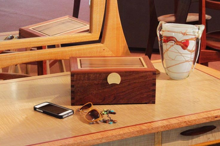 Buy Dovetail 3 Layer Jewellery Box with Sassafras Lid | Australian Woodwork