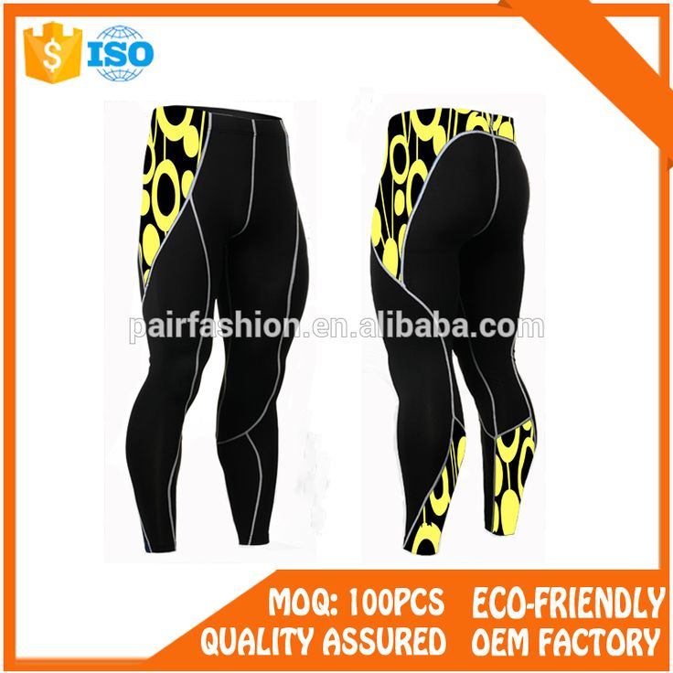 OEM service compression wear sports wear gym clothing, men athletic training pants