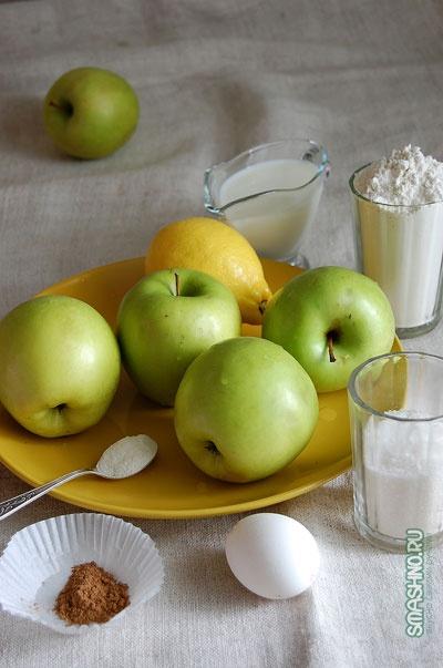оладьи с яблоками / pancakes with apples