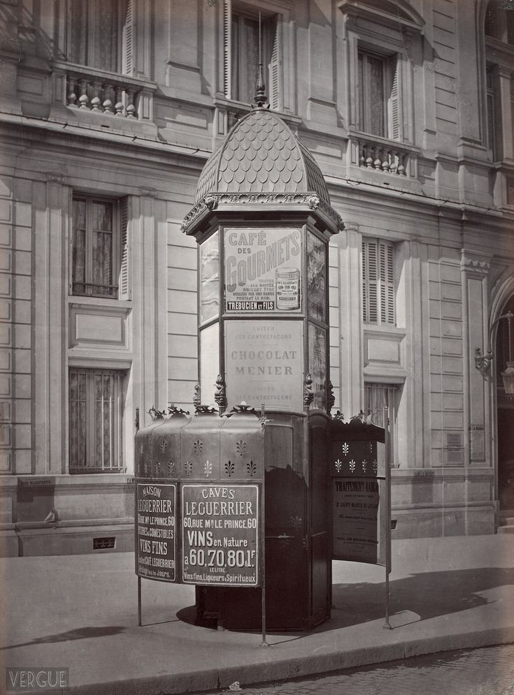 Paris has always had a knack for making the ordinary and themundane somehow look infinitely more charming, even the city'spublic toilets were once a thing of beauty…