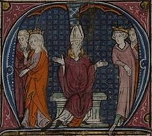 Agnes of Courtenay (c. 1136 – c. 1184) was the daughter of Joscelin II of Courtenay by his wife Beatrice, and the mother of king Baldwin IV of Jerusalem and queen Sibylla of Jerusalem. She was the wife of Amalric I of Jerusalem.