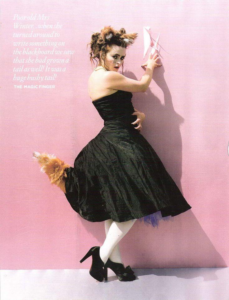 Tim Burton Helena Bonham Carter Vogue UK December 2008 Tales of the Unexpected