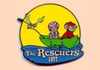 The Rescuers / Bernard / Bianca / Evinrude a retired Disney trading pin released November 26th, 1999.Countdown to the Millennium Series #35