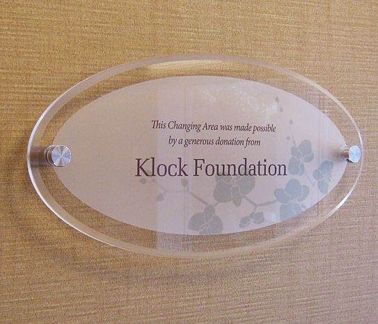 museum donor plaque - Google Search