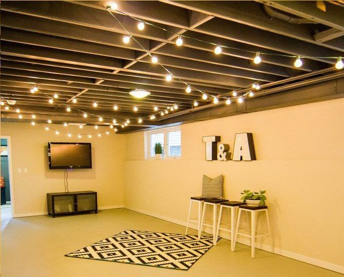 Basement Decor. Get A Great Many Cool And Trendy Finished Underground Room  Home Decorating Suggestions