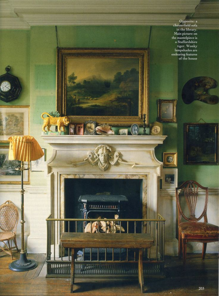 The World of Interiors, October 1986. Photo - Tim Beddow