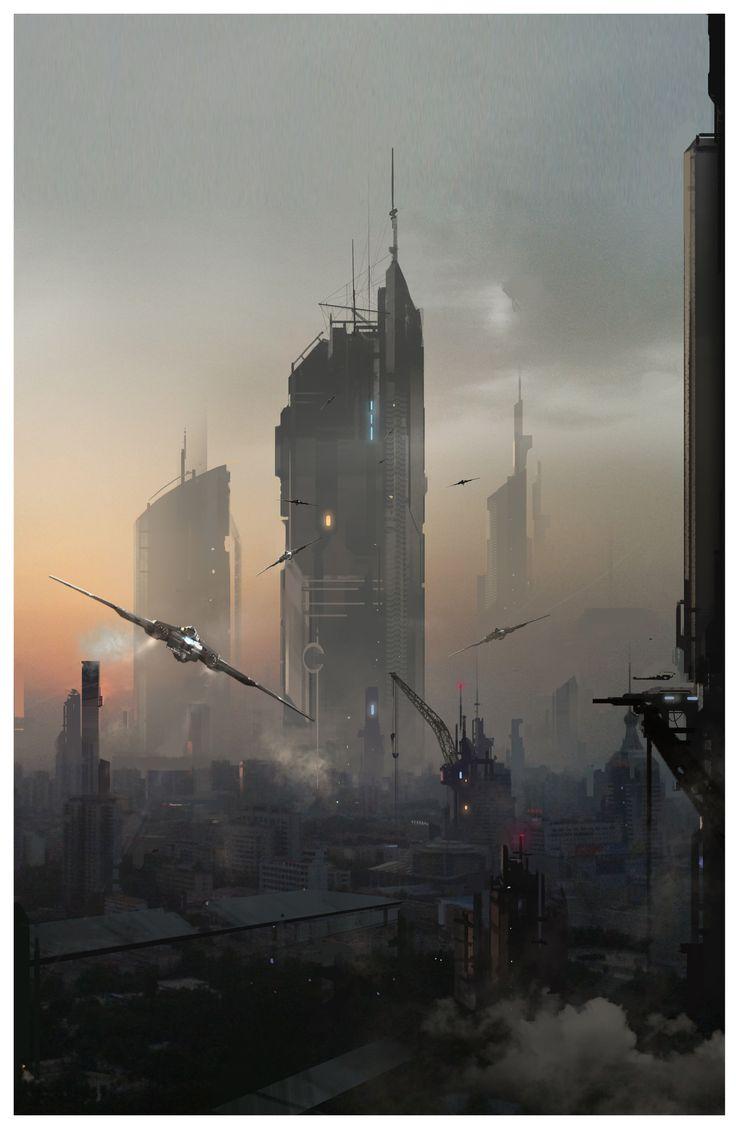 Pin by Atanas Lambev on Space adventure | Futuristic art ...