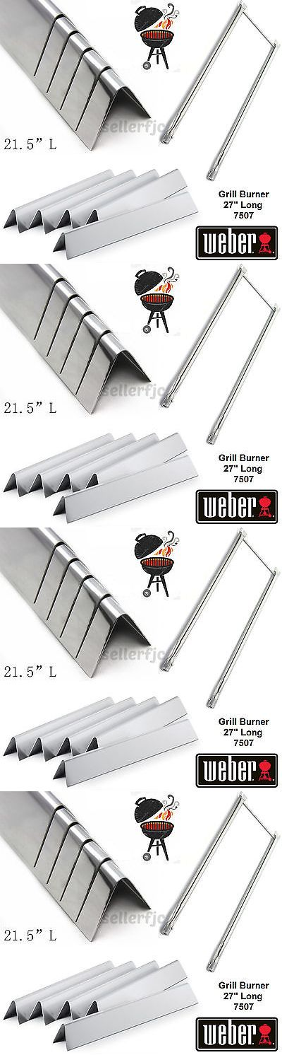 BBQ and Grill Replacement Parts 177018: 5 Pcs Stainless Steel Flavorizer Bars With Heat Plate Weber 7535 Spirit Genesis -> BUY IT NOW ONLY: $54.9 on eBay!